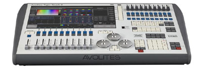 Avolites Tiger Touch 2 - Live Productions - Corporate & Live Events
