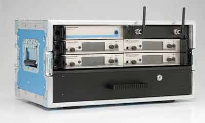 Sennheiser 4way rack - Live Productions - Corporate & Live Events